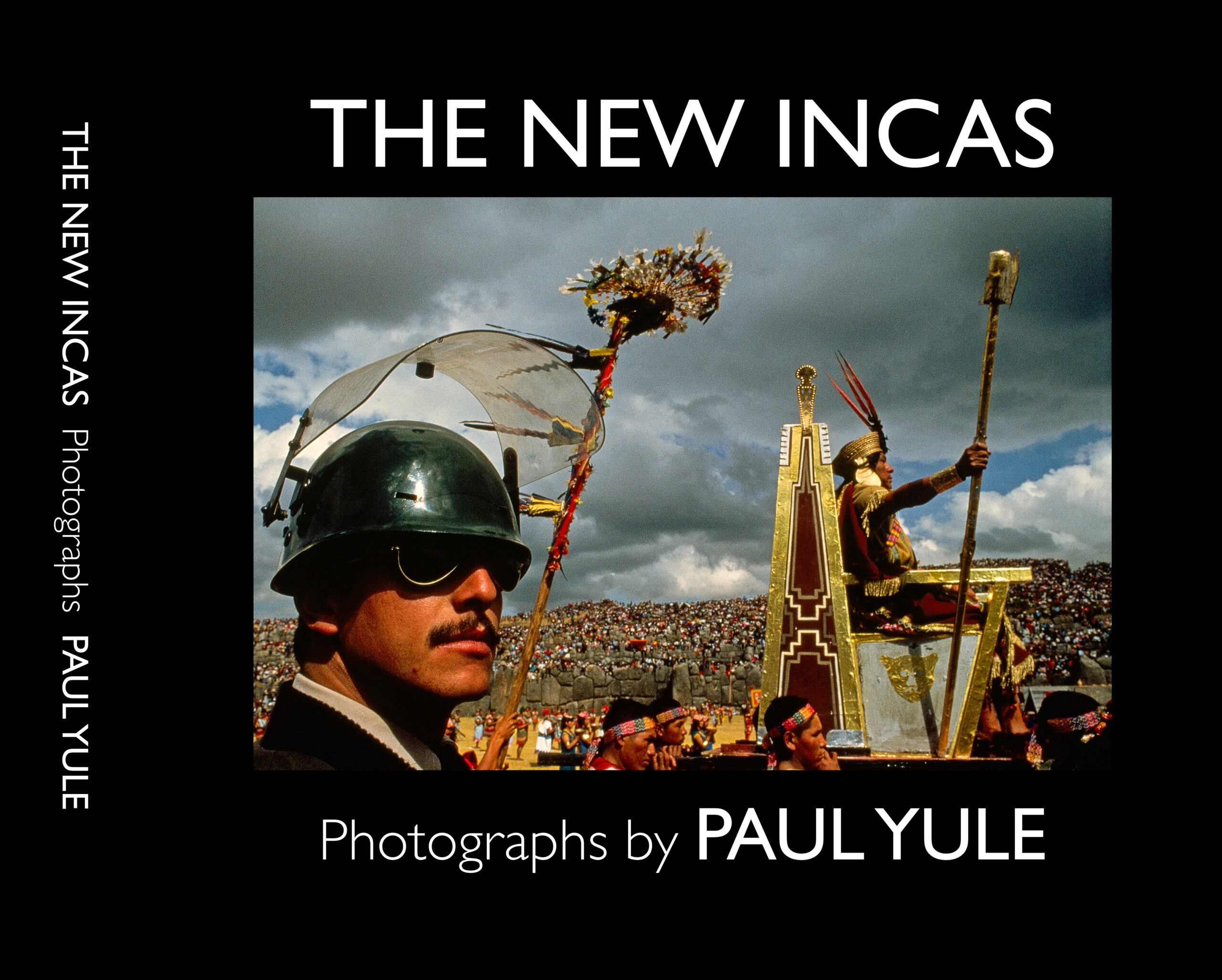 The Soldier and the Incas. Photograph by Paul Yule of Inti Raymi