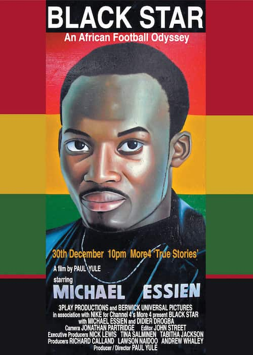 African football Michael Essien black_star