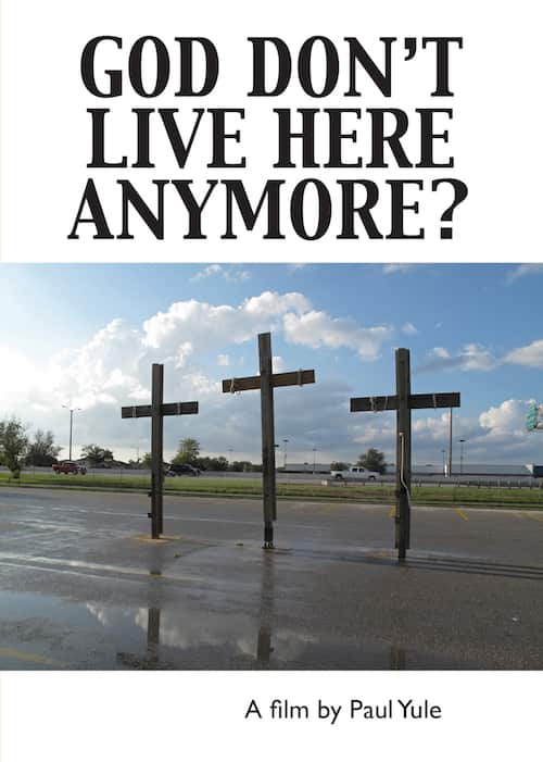 USA. 3 crosses. god_dont_live_here
