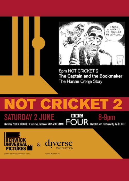 Hansie Cronje - poster of not_cricket_2