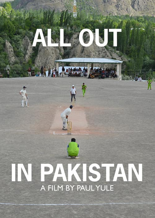 Cricket. All Out In Pakistan