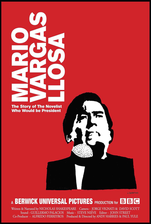 """Poster of """"Mario Vargas Llosa"""" film"""